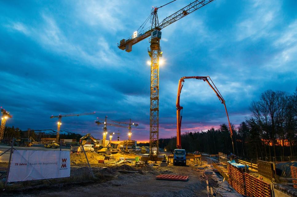 modesto concrete pumping crane